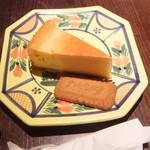 きっさこ - ベークドチーズケーキ