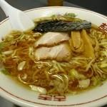 中華そば マル真 - 太麺醤油600円