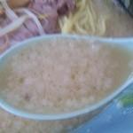 ラーメンショップ - 塩とんこつラーメン スープアップ