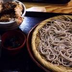 御嶽 伊賀上野本店 - ざる蕎麦とミニ天丼