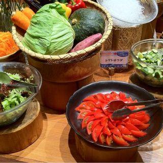 新鮮!安心野菜が毎朝届くサラダバイキング
