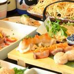 はかた こぶし - 料理写真:人気のメニューがそろったコース料理がおすすめ!