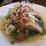 18570004 - 魚料理はスズキムニエル