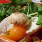 18572975 - マッシュルーム美味しい!生でいけます☆