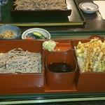 18573004 - 天丼+ざる蕎麦