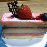 パティスリー シトロン - ラズベリーのケーキ(名前不明)