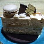 パティスリー シトロン - 紅茶のケーキ(名前不明)