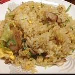 満山紅 - 今日は角煮の炒飯。