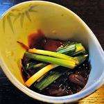 みやこわすれ - 山菜食べ尽くしプラン(行者にんにくとほたるいかの塩辛)