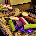 みやこわすれ - 地物無農薬野菜の炭火焼き