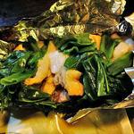 みやこわすれ - 九条葱と若鶏の炭火ホイル蒸し