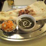 インドラ - ひよこ豆とほうれん草のカレー