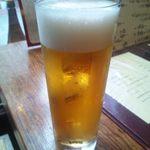 沖縄 肉酒場 ぬちぐすい - 生ビール(オリオン)630円