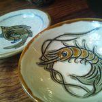 沖縄 肉酒場 ぬちぐすい - 沖縄のやちむん 取り皿