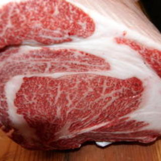 肉祭り牛肉と牡蠣のステーキ切り売り15.5円特売品