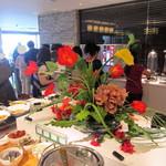 ラマダホテル大阪 - (朝食)モーニングビュッフェ、Dining&Cafe neuf neuf にUP。