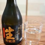 繁の家 - 冷酒300ml(奈良生駒、上田酒造、嬉長大和蔵うえだ酒 生貯蔵酒特別本醸造)