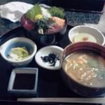 漁楽洞 - まぐろ丼定食850円也 ※値段変わっています。ご注意!