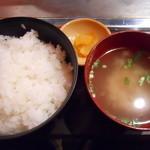 七蔵 - 定食セット