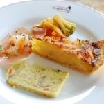 ル・カフェ - ランチの前菜
