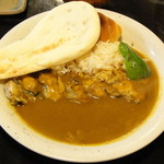 JIB スパイシー スミレコ - 料理写真:カキのバターソテーカレー【2013/04/2*】