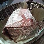 ビッツ - チキンの甘酢あんかけタルタルバーガー350円