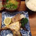 とんかつ 安右衛門 - ブリカマの味噌漬け焼き