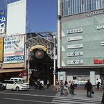 18594587 - 岡山駅東口を出て、噴水を右に見ながら進み、ビッグカメラ左手のアーケードの中にあります~。