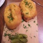 バル・コセチャ -  マラコフ(揚げチーズパン)