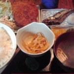 華厳 - コロッケ定食 650円也