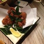 KICHIRI - 博多地鶏の香味揚げ