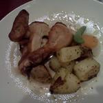 イヴ テラス - ロティスリーチキン、友人の皿