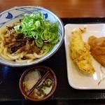 丸亀製麺 - 牛肉しぐれぶっかけ