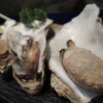 男組 釣天狗 - 【牡蠣の塩焼き@800円→600円】ちょいと焼きすぎ。。^^;