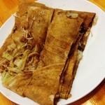 ちょぼ焼き はす多 - ちょぼ焼き+豚肉+野菜(550円)