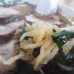 18597915 - ボコボコの中太麺♪