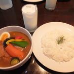 18599581 - ランチ チキン野菜 1200円 【 2013年4月 】