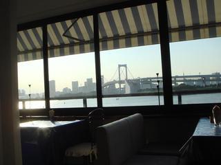 タールムビアンコ お台場店 - 窓からの眺め