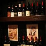 オステリア・バール・イル・ポモドーロ - ワインはイタリアのものを中心に扱ってらっしゃるようです☆