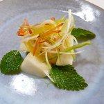 銀杏庵 - 洋梨のサラダ