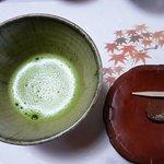 銀杏庵 - 抹茶とお菓子