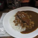 ジャンボカレー - ジャンボ@魚カツカレー 500円