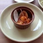 アミーテヴィラ - ランチの一品料理
