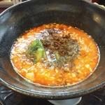 杏亭 - 四川山椒入り担々麺