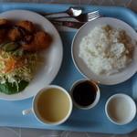 レストラン湖水 - コロッケセット