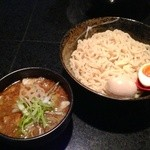 麺処 蓮海 - 醤油つけ麺+味玉(700+100円)