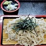 湯めみの丘 - 料理写真:ざるそば 500円