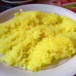 インド・ネパール料理 タァバン - サフランライス