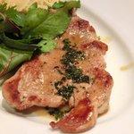 18618513 - メインセット<数量限定> 1000円 の豚フィレ肉のスカロッピーネ ~白ワインソース~