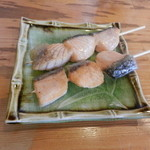 串笑 - 魚串(キングサーモン)